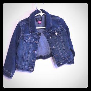 LIKE NEW! Girls jean jacket